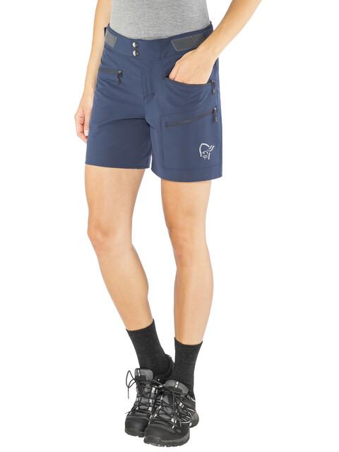 Norrøna Falketind Flex1 - Shorts Femme - bleu